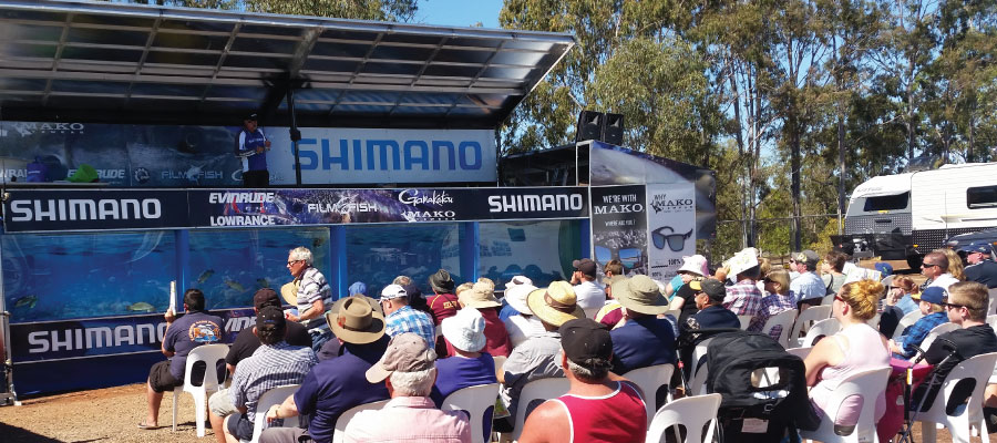 Shimano Fishing Show with Mossy