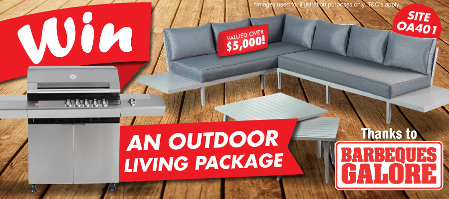 WIN a $5,000 Outdoor Living Package!